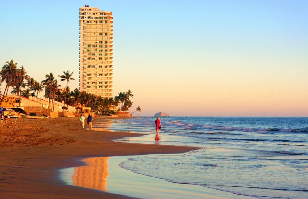 Coastal mazatlan Mexico